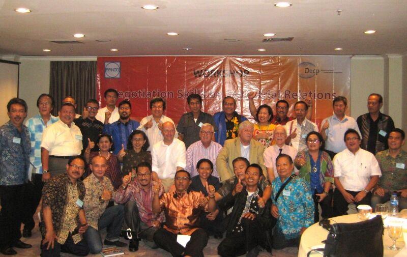 A seminar on negotiating skills