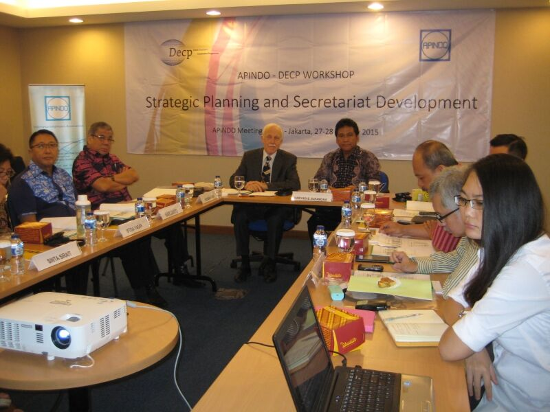 A seminar on strategic planning for APINDO