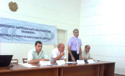 Armenia Former DECP partner