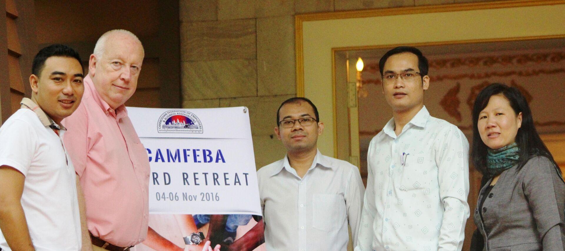 Cambodia CAMFEBA board retreat