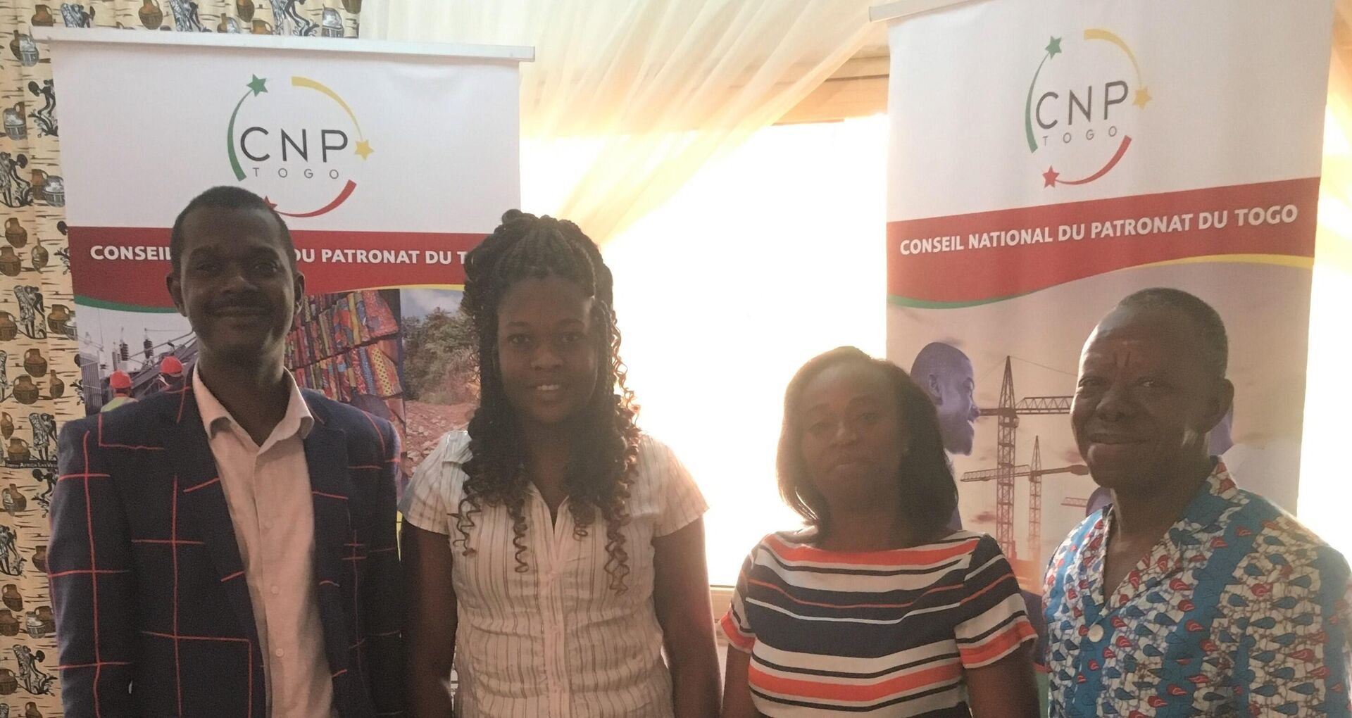 CNP-Togo. Continuous development of the team and complementary competencies