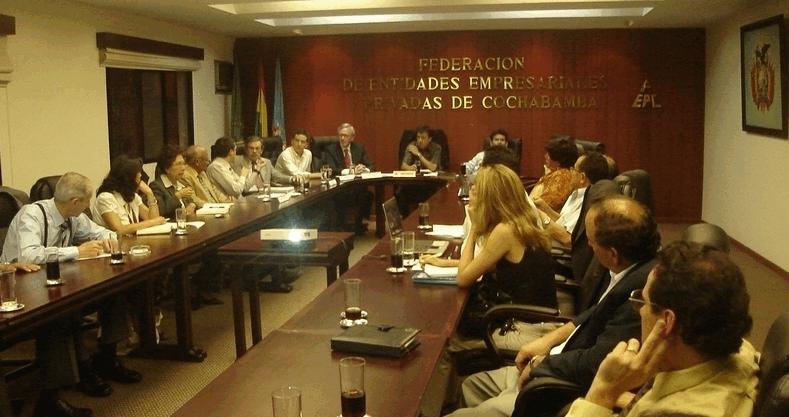 DECP financed strategic plan for Bolivian employers' organization