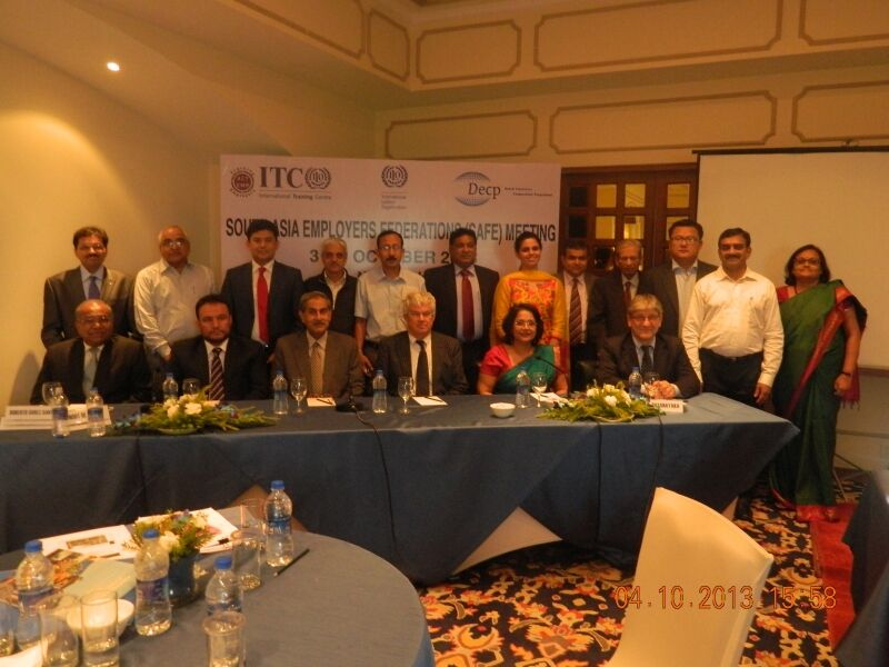 DECP supports South Asian Federations of Employers (SAFE)
