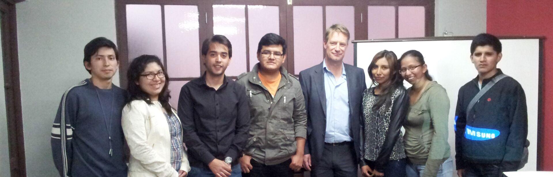 Entrepreneurs in Tarija improve their communication skills