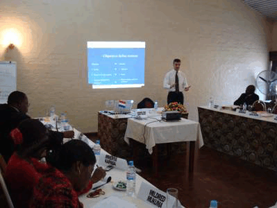 Mission and workshops in Zambian Federation of Employers