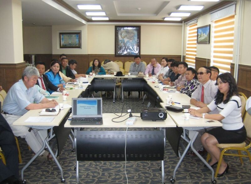 Mongolia A regional workshop on SME's