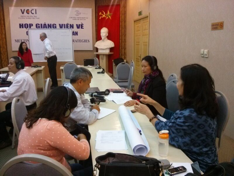 Negotiations skills Training of trainers check up