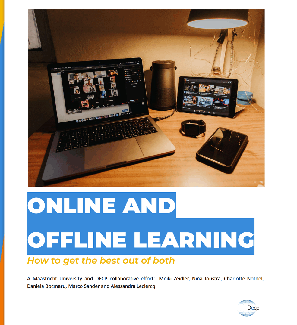 Online and offline learning. How to get te best out of both