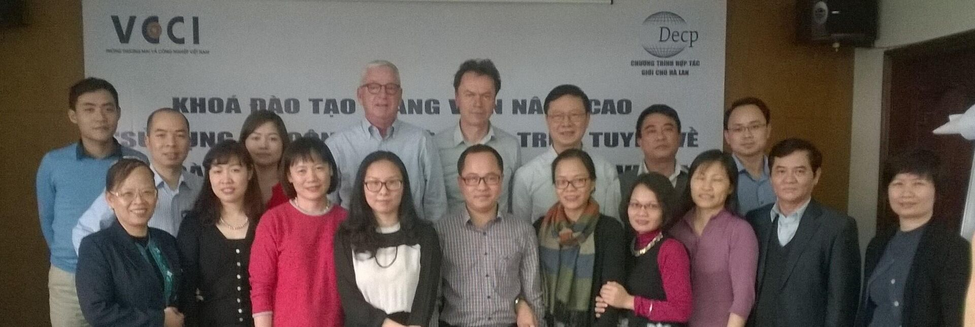 Social Dialogue training by Vietnamese trainers