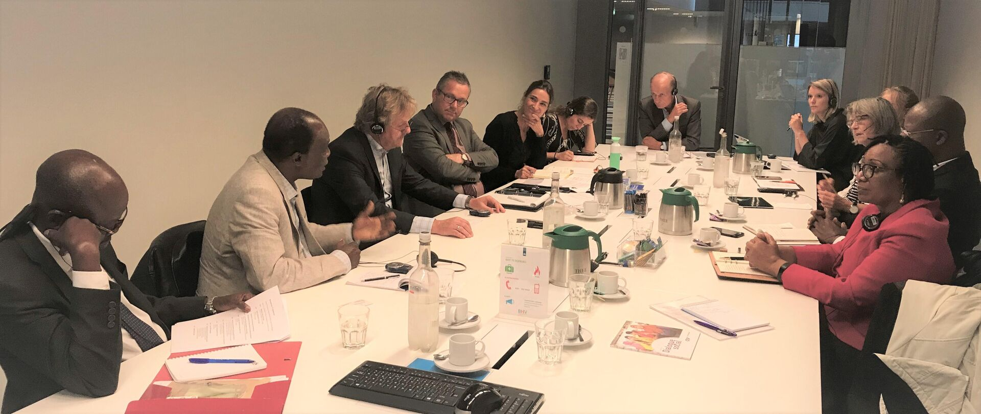 Social Economic Council from Benin on a study visit to the Netherlands