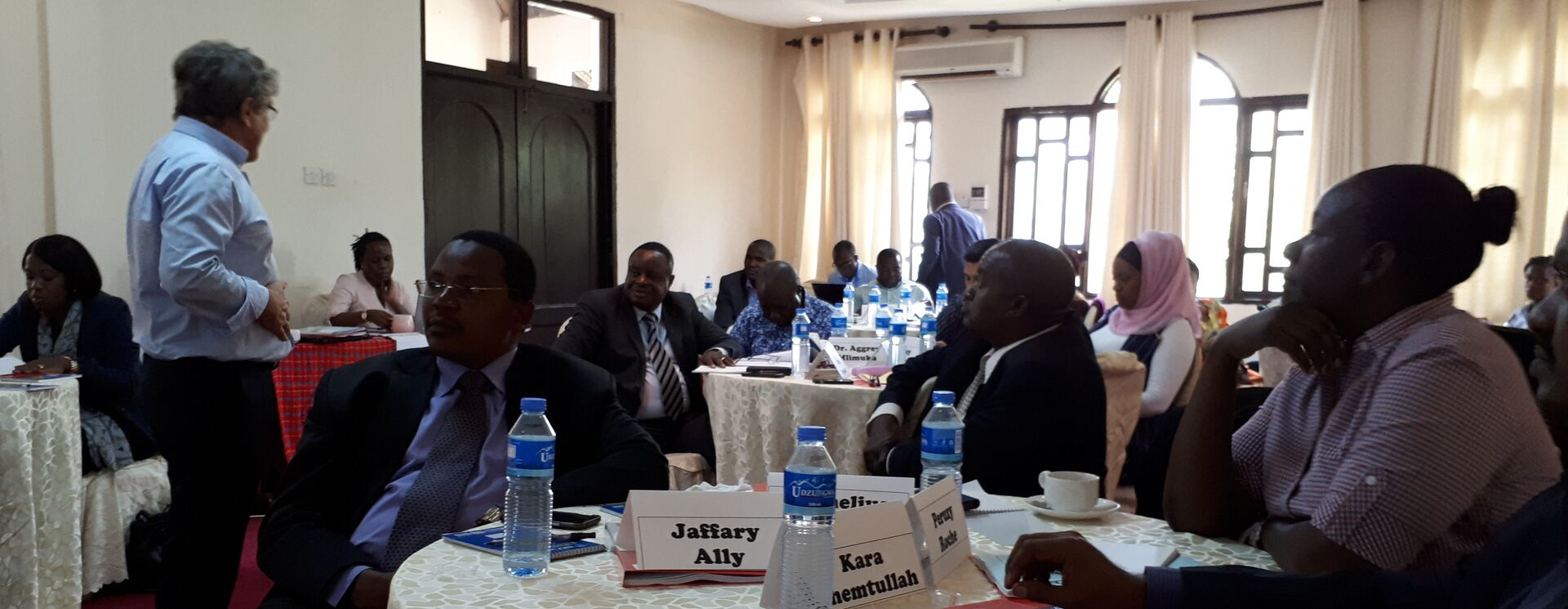 Tanzania DECP conducts retreat of the Board of ATE