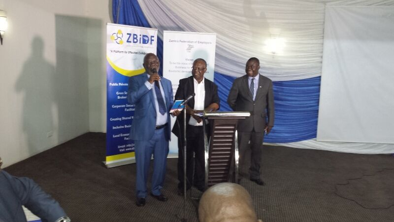 The ZFE presents its Manifesto to the government