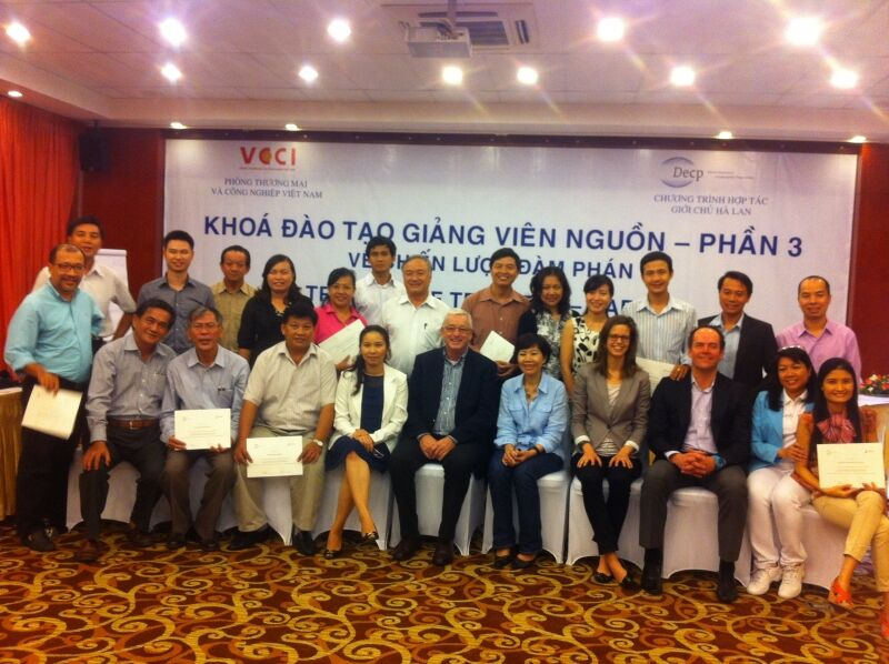 Third and final session: Training of Trainers concluded in Ho Chi Minh City