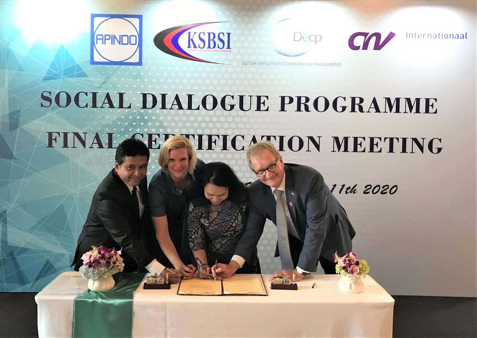 Towards structural Social Dialogue in Indonesia