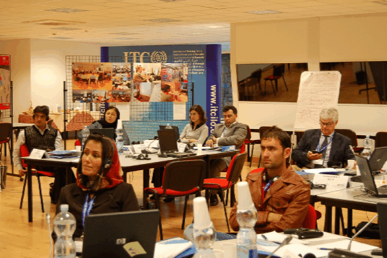 Training 'Effective employers' organisation' for Afghanistan Chamber of Commerce and Industries