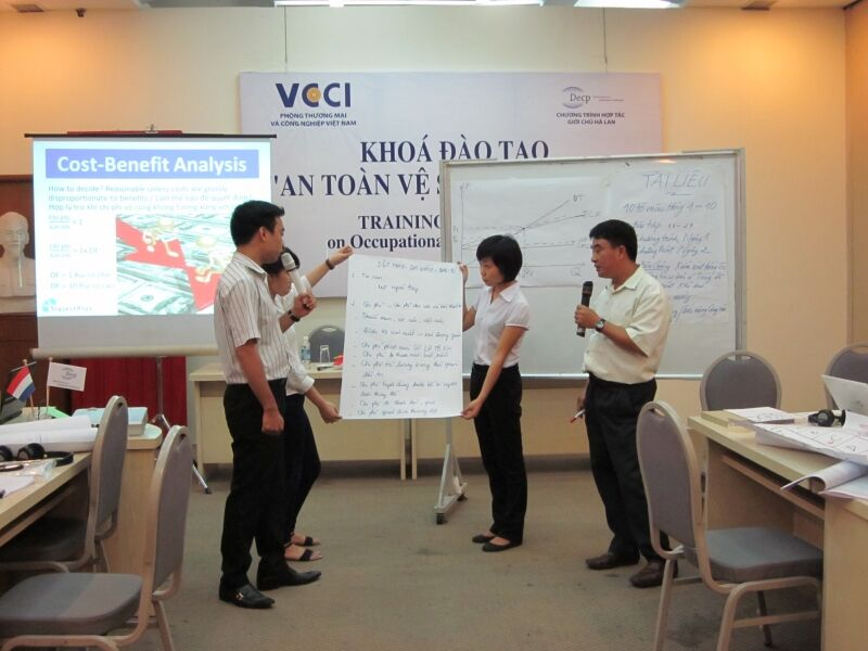 Training of Trainers on Occupational Safety and Health