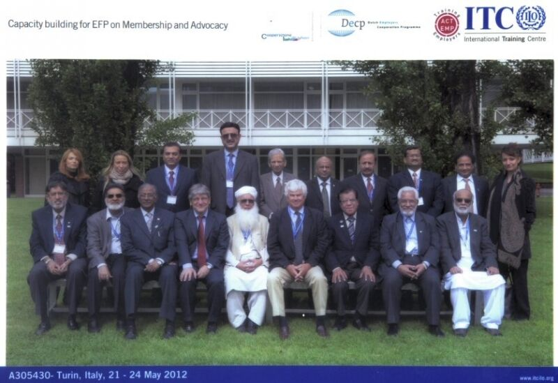 Working with the Pakistan Employers Federation