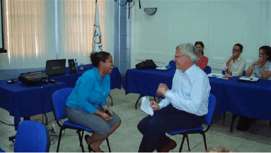 Workshop on communication for the Surinam Trade and Industry Association
