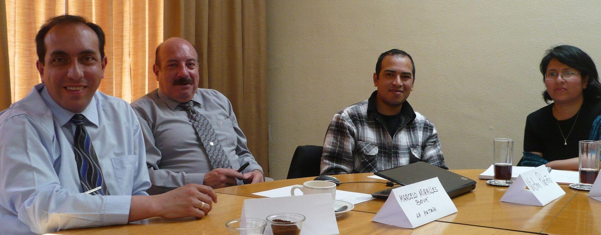 Workshops on Communication in Bolivia